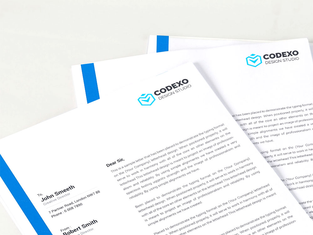 Briefbogendesign - Briefpaper gestalten lassen