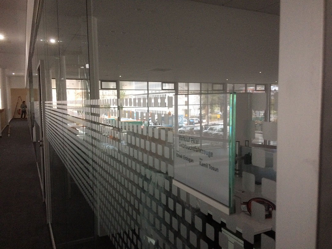 Sichtschutzfolie für Mercedes in Darmstadt