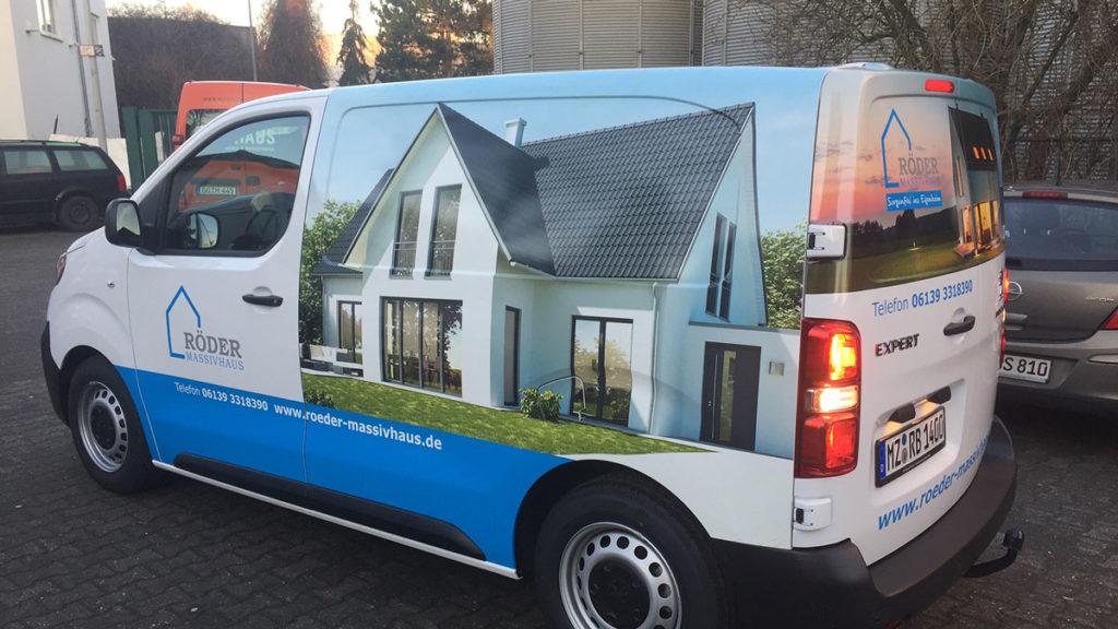 Autofolierung Mainz - Creative Bauplanung
