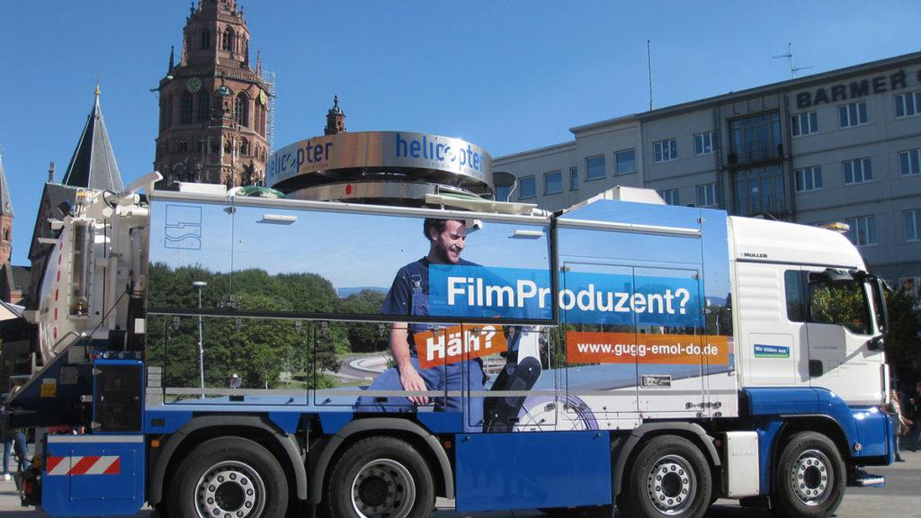 Fahrzeugbeschriftung Mainz Wirtschaftsbetriebe