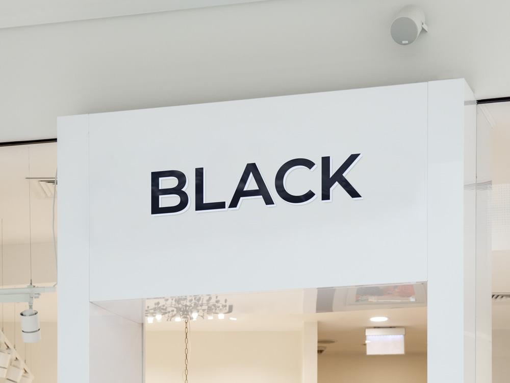 Leuchtbuchstaben für eine Ladenfläche Darmstadt
