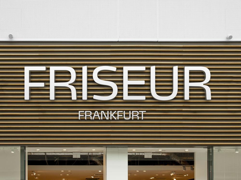 Leuchtbuchstaben Friseur Frankfurt