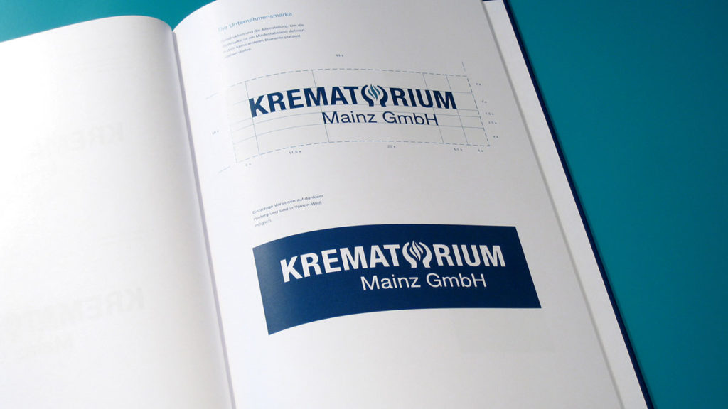 Logo-Design Krematorium Mainz