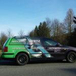 Lorenz Fahrzeugbeschriftung Passat