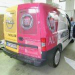 Autofolierung Kleintransporter Fiat - Opel