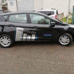 Fahrzeugfolierung für die Firma Jobimpulse