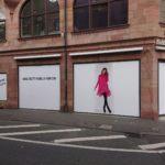 """Schaufensterbeschriftung für """"Fashion House"""""""