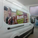 Autofolierung für die Firma Mayer