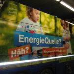 Lastwagenbeschriftung mit fotorealistischem Bild