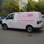 Fahrzeugbeschriftung für Kreuter Blum