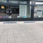 Parkbegrenzer in Darmstadt - inkl. Beschriftung