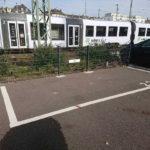 Parkplatzschild mit Montage vor Ort Mainz