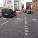 Parkbegrenzer mit Beschritung und Montage in Mainz