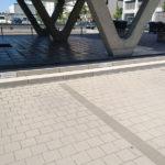 Parkplatzschilder an der Stufe in Darmstadt