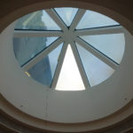 Sonnenschutzfolien am Dachfenster