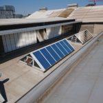 Dachfenster mit Sonnenschutzfolie verringern die Wärmeentwicklung in den Innenräumen