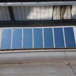 Sonnenschutzfolie für Dachfenster aus Drahtglas in Frankfurt