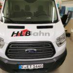 Fahrzeugfolierung für HLB auf der Motorhaube