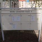 Briefkastenbeschriftung