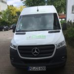 Fahrzeugbeschriftung CISS auf der Motorhaube