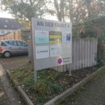 Schild vor einem Mietobjekt in Mainz Gonsenheim