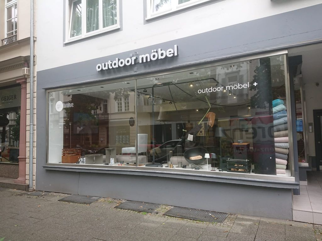 Leuchtbuchstaben Profil 5 für Outdoor Möbel