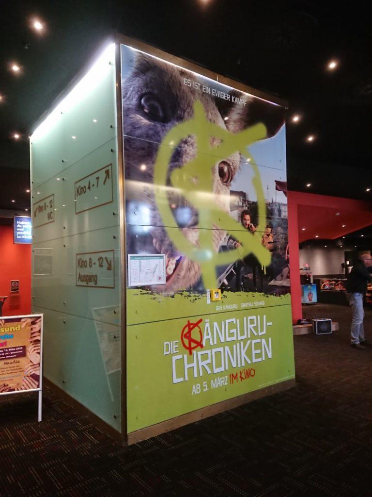 Foliendruck für CineStar in Frankfurt